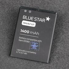 BS® für SAMSUNG GALAXY Y Young / GT-S5360 Akku Batterie EB454357VU 1400mAh / NEU