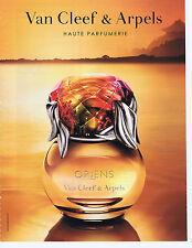 "PUBLICITE ADVERTISING 064 2010 VAN CLEEF & ARPELS ""Oriens"" haute parfumerie"