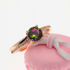 Fashion Ring Gift Size Open H16 925 Rose Gold Plated Women/Men New