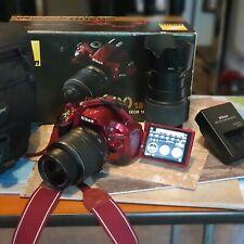 NIKON D5200 24.1 MP Camera  55-200mm 18-55mm VRII LENS KIT ,Wirelss  Boxed