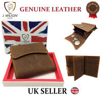 DESIGNER LEATHER WALLET HIGH QUALITY MENS LADIES CREDIT CARD COIN PURSE J WILSON