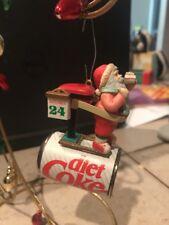 ENESCO CHRISTMAS ORNAMENT: SLIMMIN' SANTA DIET COKE New in box