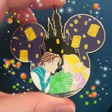 Rapunzel And Flynn tangled Pin On Pin Fantasy Disney inspired Glitter