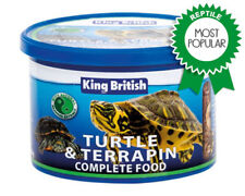 King British Turtle And Terrapin Complete Balanced Food With Krill 80g