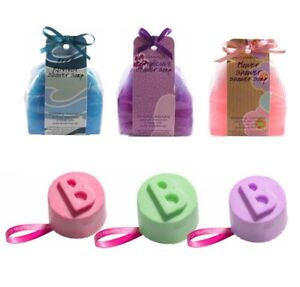 Shower Soaps & Solid Shower Gels by Bomb Cosmetics