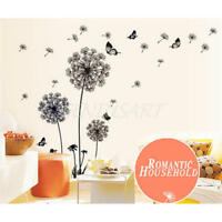 New Dandelion Fly Mural Removable Decal Room Wall Sticker Vinyl DIY Home MER