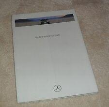Mercedes S Class W140 Series Brochure 1991 - S300 S400 S500 S600 SE & SEL