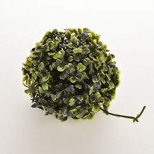 Artificial 12cm Boxwood Buxus Topiary Balls Grass Plant Chain Hanging  IO