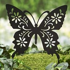 Animal Silhouette Stake – Garden Décor - Butterfly