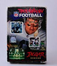 Troy Aikman NFL Football Atari Jaguar Complete in Box
