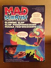 MAD SCIENTIST MATTEL LO SCIENZIATO PAZZO GLOWING GLOP NEW!!!