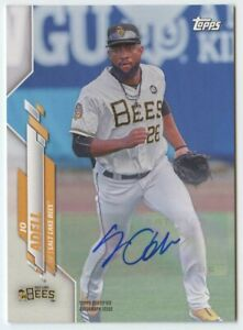 Jo Adell 2020 Topps Pro debut #PD-100 Salt Lake Bees signed auto autograph