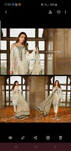 3 Piece Embroidered Lawn Suit By RAMSHA-CHEVRON VOLUME 1