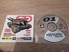 Official UK PlayStation 1 Magazine Demo Disc 01 Vol 2 ~ TRASH IT ~ ROBOTRON X ~