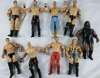 2003 WWE Wrestling Action Figures Lot of 9 John Cena Kane Randy Orton ect  (A11)