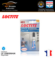 LOCTITE 401 Adhésif Instantané Colle 3 Secondes 3ml Gamme PRO Réf. 303265