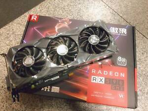 XFX AMD Radeon RX590 GME 8G GAMING Graphics Card GDDR5