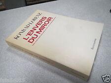 L ENVERS DU MIROIR KONRAD LORENZ une histoire naturelle de la connaissance 1976*