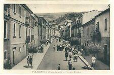 1956 PIANOPOLI CORSO ROMA cartolina animata viaggiata Catanzaro Calabria