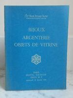 Catalogue Di Vendita Gioielli Argenteria Articolo Vetrina N°7 19 Febbraio 1975