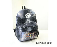 Exo EXODUS chan yeol luhan kris kai lay sehun SCHOOLBAG Backpack Kpop NEW