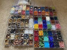 Beads, Mixed Beads, Glass Beads, Stone Beads, Semi-precious Lot