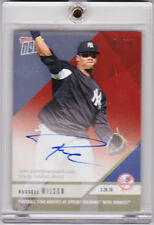 Russell Wilson Seahawks Yankees Autograph 2.26.18 2018 Topps NOW ST-6C AUTO 1/10