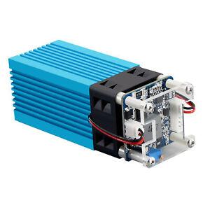40W Laser Module LD+FAC 5.5W 450nm Continuous Laser Fast High Precision Cut B7K6