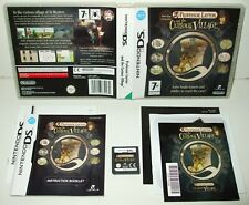** PROFESSOR LAYTON and the CURIOUS VILLAGE ** NINTENDO DS/LITE/DSi/XL/3DS GAME