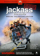 JACKASS THE MOVIE - SPECIAL COLLECTOR'S EDITION DVD (NEW & SEALED)