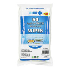 ProRep ProTect Hand and Surface Wipes 50 pack Vivarium Cleaning Wipes