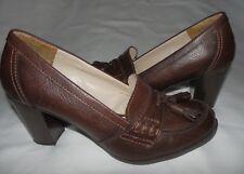 Madeline Stuart Grammar Women Brown Slip On Pumps Shoes With Tassels Size 8M