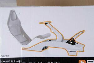 Playseat F1 Formula Weiß Gestell für Rennsitz mit Lenkrad Pedale RF.00068