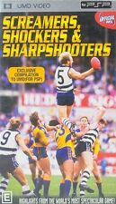 Screamers Shockers & Sharpshooters AFL - Playstation PSP UMD Video / Movie - Aus