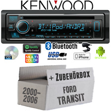 Kenwood Radio für Ford Transit Bluetooth Spotify iPhoneAndroid CD/MP3/USB Einbau