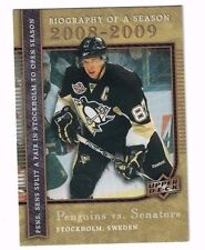 2008 UD Biography of a Season Sidney Crosby #BS7