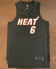 Rare Adidas NBA Miami Heat LeBron James Bron Bron Basketball Jersey