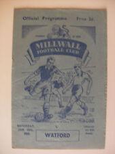 Millwall Division 3 Home Teams L-N Football Programmes