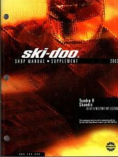 2003 SKI-DOO SNOWMOBILE SHOP SUPPLEMENT MANUAL TUNDRA R & SKANDIC  (441)