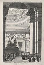 President Grant Opening the Centennial Exposition - Memorial Hall   -  1876