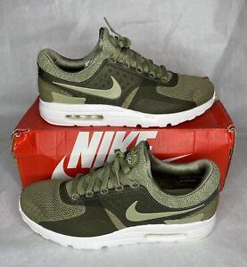 New Men's Sz 12 Nike Air Max Zero 0 BR Trooper Running Shoes Green (903892-200)