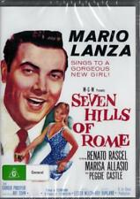 SEVEN HILLS OF ROME - MARIO LANZA - NEW AND SEALED DVD - FREE LOCAL POST