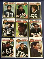 1979 Topps CINCINNATI BENGALS Complete Team Set 24 ARCHIE GRIFFIN Sharp NM-MT