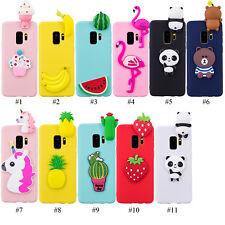 3D fruta Panda Suave Silicona Teléfono Estuche Para Samsung Galaxy S8 S9 S10 9 A8 Note