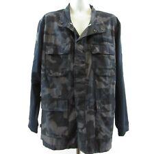 Nike Sportswear Camo Jacket Size XXL Gray NSW Mens Military NEW 928621-475