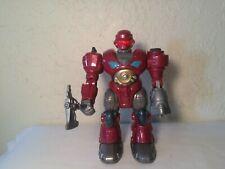 Hap-P Kid Robot Walks Sounds Lights Weapon Works Great