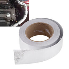 Car Truck Adhesive Reflective High Temperature Heat Shield Wrap Tape Roll Silver