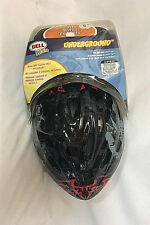 Bell Kidz Kids Bicycle Skateboard Helmet Child 5+ NEW Black Scorpion Knee Pads