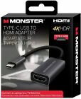 Monster USB-C to HDMI Adapter | Connect Laptop to TV/Monitor