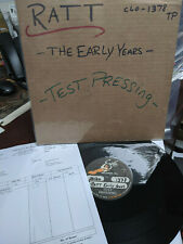 RATT - The Early Years EP TEST PRESSING LIMITED 4 copies made